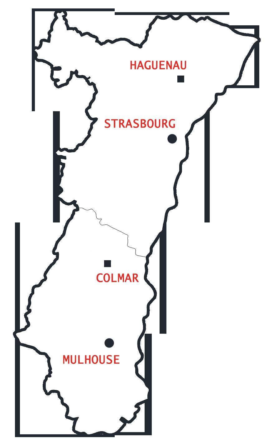 Elsass Karte Colmar.Meine Elsass Routen 8 Typischen Routen Durch Das Elsass