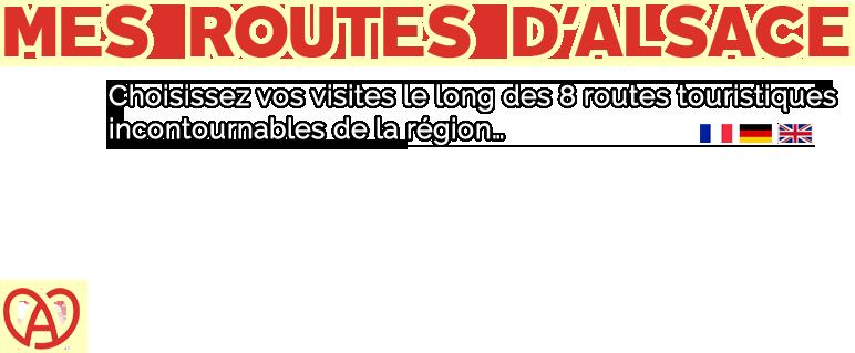 Carte Touristique Alsace Du Nord.Mes Routes D Alsace Les 8 Routes Touristiques